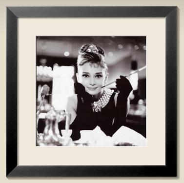 Audrey Hepburn - Frühstück bei Tiffany